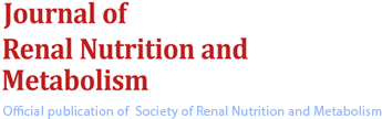Journal of Renal Nutrition and Metabolism
